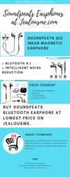 Discounted On Soundpeats Bluetooth Earphone
